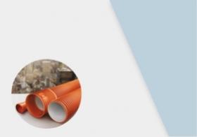 Гофрированная канализационная труба (Икапласт)