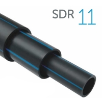 Труба ПЭ-100 SDR 11 для водоснабжения 200x18,2 мм